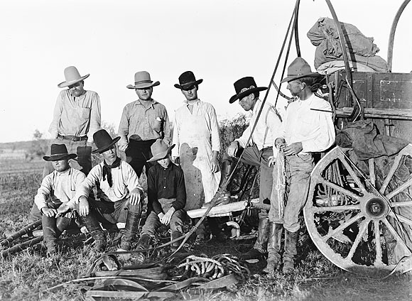 Cowboys from the 1800's
